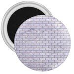 BRICK1 WHITE MARBLE & SAND (R) 3  Magnets Front