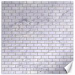 BRICK1 WHITE MARBLE & SAND (R) Canvas 20  x 20   20 x20 Canvas - 1