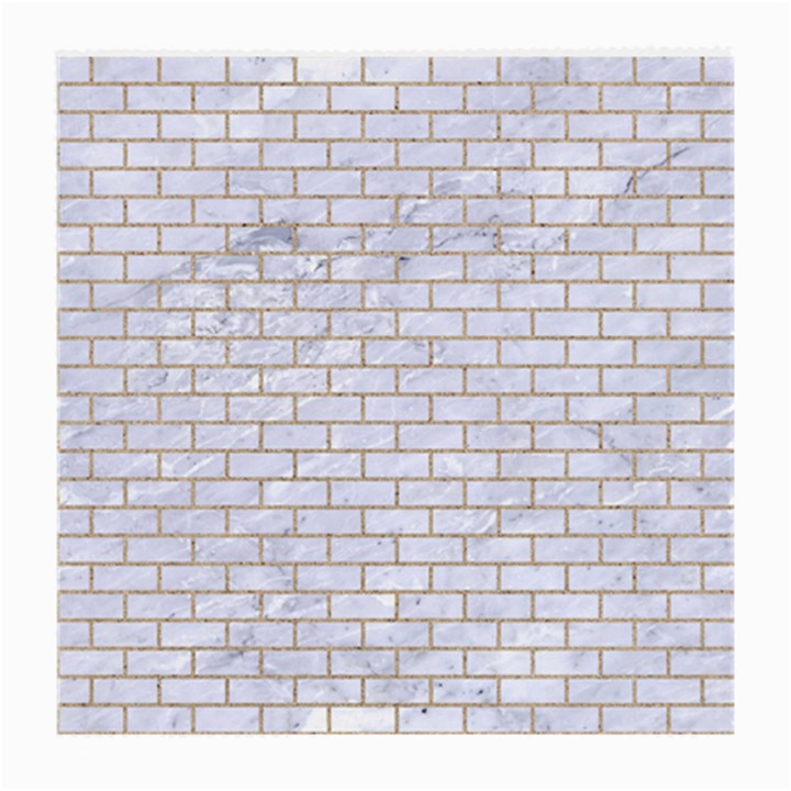 BRICK1 WHITE MARBLE & SAND (R) Medium Glasses Cloth (2-Side)