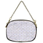 BRICK1 WHITE MARBLE & SAND (R) Chain Purses (Two Sides)  Back