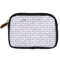 Brick1 White Marble & Sand (r) Digital Camera Cases