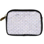 BRICK1 WHITE MARBLE & SAND (R) Digital Camera Cases Front