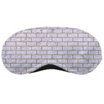 BRICK1 WHITE MARBLE & SAND (R) Sleeping Masks Front