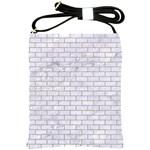 BRICK1 WHITE MARBLE & SAND (R) Shoulder Sling Bags Front