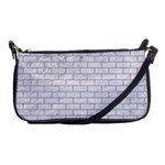 BRICK1 WHITE MARBLE & SAND (R) Shoulder Clutch Bags Front
