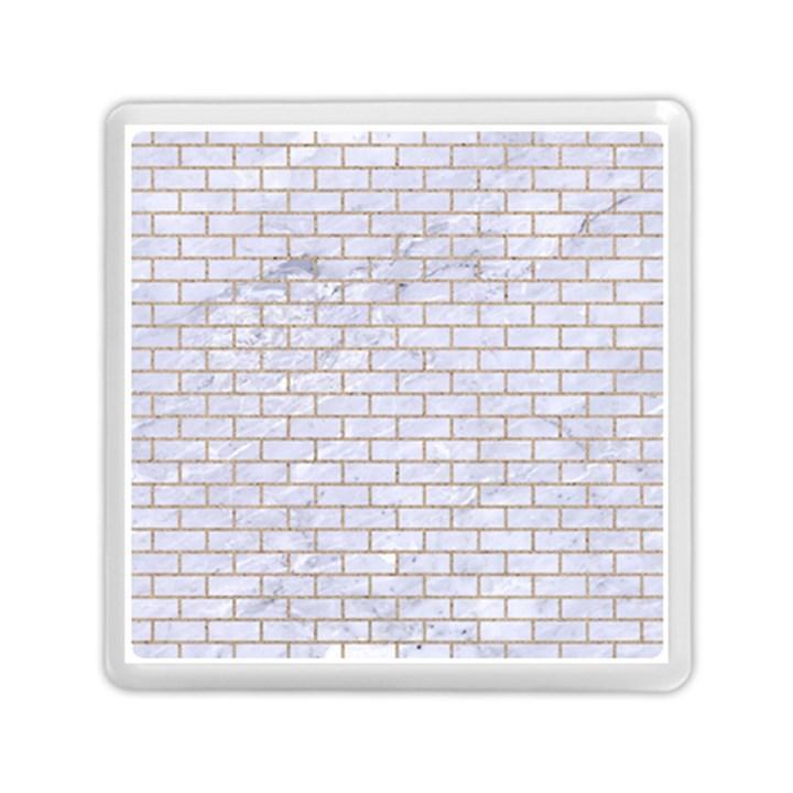 BRICK1 WHITE MARBLE & SAND (R) Memory Card Reader (Square)