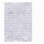 BRICK1 WHITE MARBLE & SAND (R) Large Garden Flag (Two Sides) Front