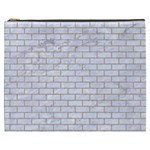 BRICK1 WHITE MARBLE & SAND (R) Cosmetic Bag (XXXL)  Front