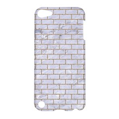 Brick1 White Marble & Sand (r) Apple Ipod Touch 5 Hardshell Case