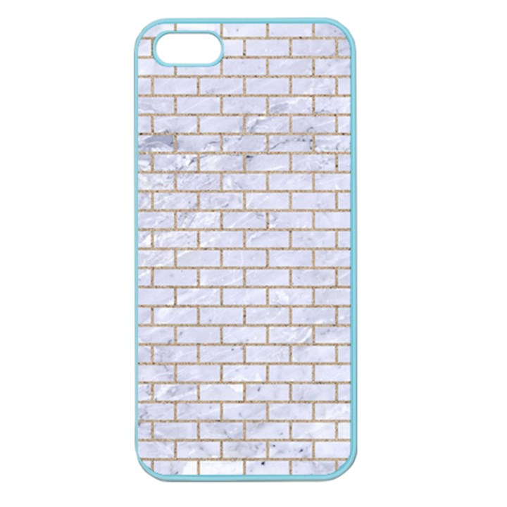 BRICK1 WHITE MARBLE & SAND (R) Apple Seamless iPhone 5 Case (Color)