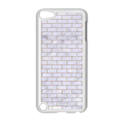 Brick1 White Marble & Sand (r) Apple Ipod Touch 5 Case (white)