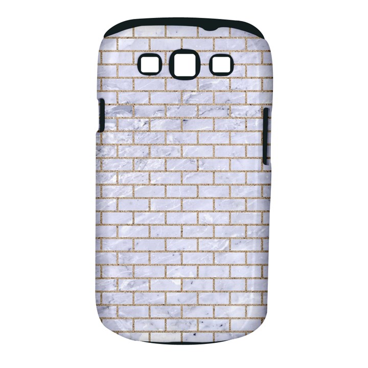 BRICK1 WHITE MARBLE & SAND (R) Samsung Galaxy S III Classic Hardshell Case (PC+Silicone)