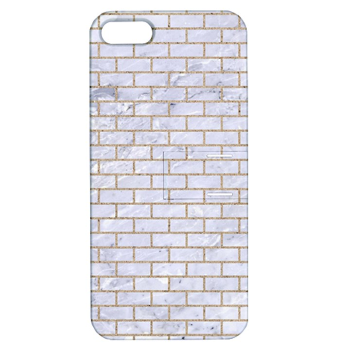 BRICK1 WHITE MARBLE & SAND (R) Apple iPhone 5 Hardshell Case with Stand