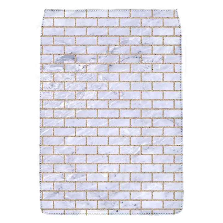 BRICK1 WHITE MARBLE & SAND (R) Flap Covers (S)