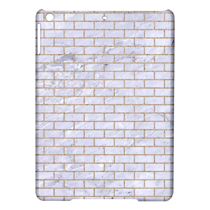 BRICK1 WHITE MARBLE & SAND (R) iPad Air Hardshell Cases