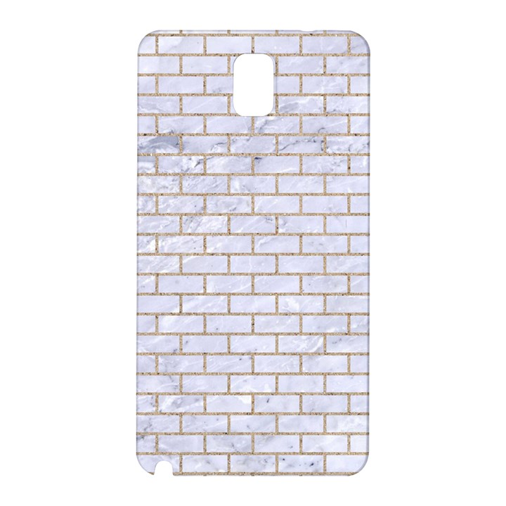 BRICK1 WHITE MARBLE & SAND (R) Samsung Galaxy Note 3 N9005 Hardshell Back Case