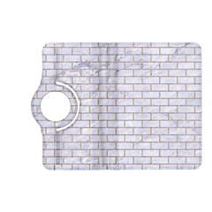 Brick1 White Marble & Sand (r) Kindle Fire Hd (2013) Flip 360 Case