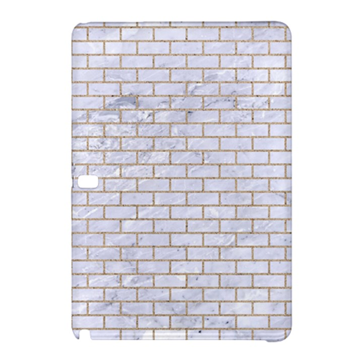 BRICK1 WHITE MARBLE & SAND (R) Samsung Galaxy Tab Pro 10.1 Hardshell Case