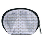 BRICK1 WHITE MARBLE & SAND (R) Accessory Pouches (Medium)  Back