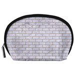 BRICK1 WHITE MARBLE & SAND (R) Accessory Pouches (Large)  Front