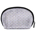 BRICK1 WHITE MARBLE & SAND (R) Accessory Pouches (Large)  Back