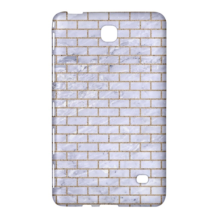 BRICK1 WHITE MARBLE & SAND (R) Samsung Galaxy Tab 4 (8 ) Hardshell Case