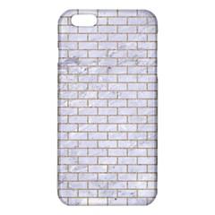 Brick1 White Marble & Sand (r) Iphone 6 Plus/6s Plus Tpu Case
