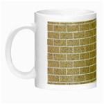 BRICK1 WHITE MARBLE & SAND Night Luminous Mugs Left