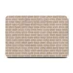 BRICK1 WHITE MARBLE & SAND Small Doormat  24 x16 Door Mat - 1