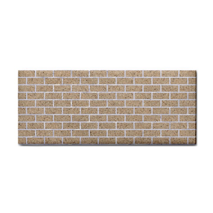 BRICK1 WHITE MARBLE & SAND Cosmetic Storage Cases