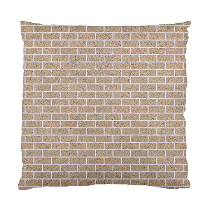 BRICK1 WHITE MARBLE & SAND Standard Cushion Case (Two Sides)
