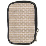 BRICK1 WHITE MARBLE & SAND Compact Camera Cases Front