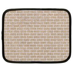 Brick1 White Marble & Sand Netbook Case (xl)