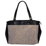 BRICK1 WHITE MARBLE & SAND Office Handbags Front