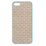 BRICK1 WHITE MARBLE & SAND Apple Seamless iPhone 5 Case (Color) Front
