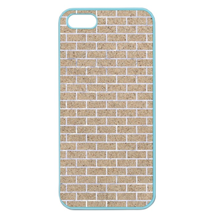BRICK1 WHITE MARBLE & SAND Apple Seamless iPhone 5 Case (Color)