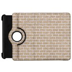 BRICK1 WHITE MARBLE & SAND Kindle Fire HD 7  Front