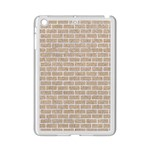 BRICK1 WHITE MARBLE & SAND iPad Mini 2 Enamel Coated Cases Front