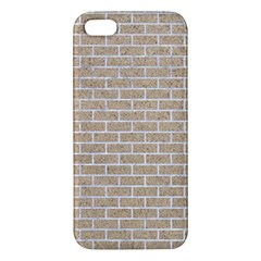 Brick1 White Marble & Sand Apple Iphone 5 Premium Hardshell Case