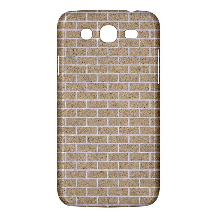 BRICK1 WHITE MARBLE & SAND Samsung Galaxy Mega 5.8 I9152 Hardshell Case