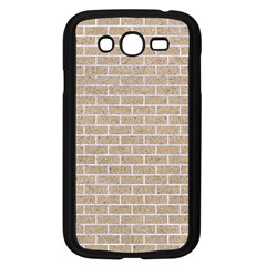 Brick1 White Marble & Sand Samsung Galaxy Grand Duos I9082 Case (black)