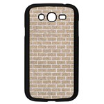 BRICK1 WHITE MARBLE & SAND Samsung Galaxy Grand DUOS I9082 Case (Black) Front