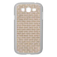 Brick1 White Marble & Sand Samsung Galaxy Grand Duos I9082 Case (white)