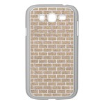 BRICK1 WHITE MARBLE & SAND Samsung Galaxy Grand DUOS I9082 Case (White) Front