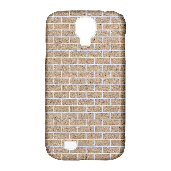 BRICK1 WHITE MARBLE & SAND Samsung Galaxy S4 Classic Hardshell Case (PC+Silicone)