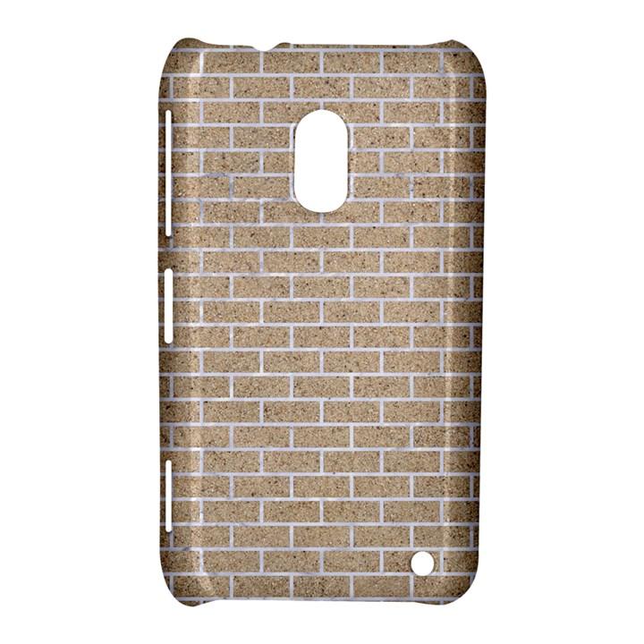 BRICK1 WHITE MARBLE & SAND Nokia Lumia 620