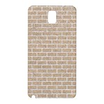 BRICK1 WHITE MARBLE & SAND Samsung Galaxy Note 3 N9005 Hardshell Back Case Front