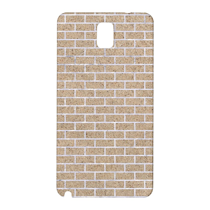 BRICK1 WHITE MARBLE & SAND Samsung Galaxy Note 3 N9005 Hardshell Back Case