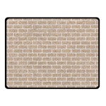 BRICK1 WHITE MARBLE & SAND Double Sided Fleece Blanket (Small)  45 x34 Blanket Front