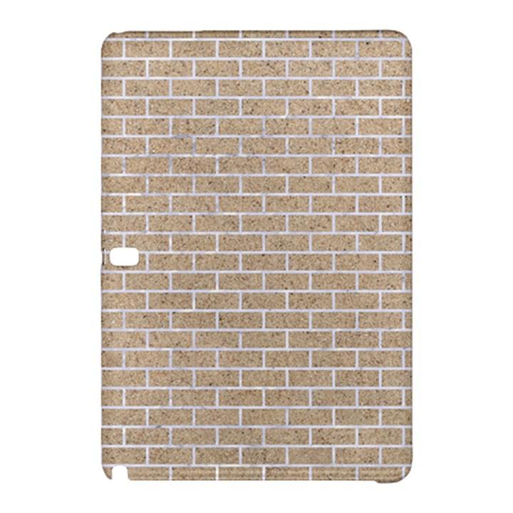 BRICK1 WHITE MARBLE & SAND Samsung Galaxy Tab Pro 12.2 Hardshell Case